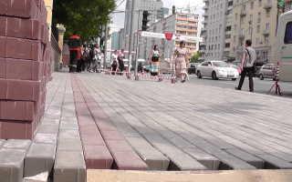 Можно ли класть тротуарную плитку на асфальт