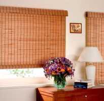 Бамбуковые шторы на пластиковые окна