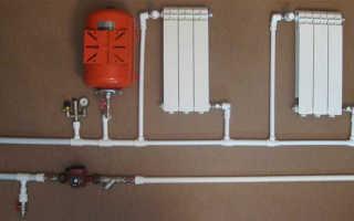 Схема пайки отопления в частном доме