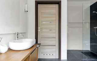 Виды дверей для ванной комнаты