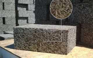 Арболит характеристики материала