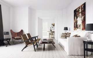 Белые стены в квартире