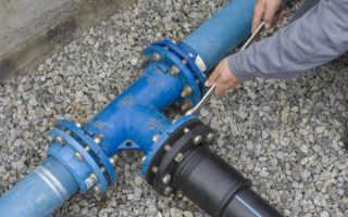 Проект на подключение к водопроводу