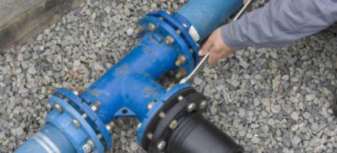 Проведение воды в дом с центрального водопровода