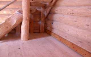 Как правильно постелить пол в деревянном доме
