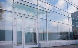 Фасадные работы витраж стекло ставить