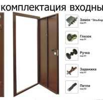 Размеры стандартной входной двери с коробкой