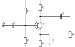 Составление электрических схем