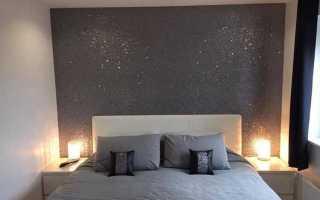 Декоративная краска для потолка с эффектом мерцания