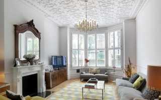 Потолки из пенопластовых плит фото