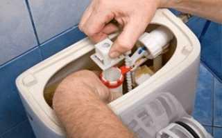 Бачок унитаза с нижней подводкой воды ремонт