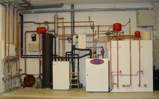 Схема отопления с циркуляцией