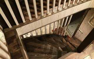 Размеры под лестницу на второй этаж