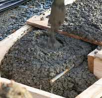 Какой марки бетон нужен на фундамент