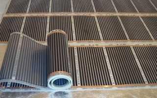 Как уложить инфракрасный теплый пол под линолеум