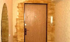 Чем обшить дверь изнутри