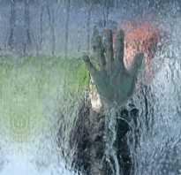 Герметичный водопад по стеклу