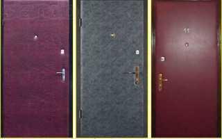 Как обновить металлическую входную дверь