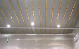 Реечный потолок варианты
