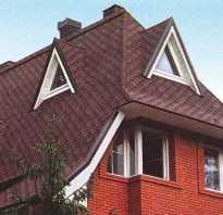 Вальмовая крыша под мансарду