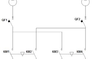 Схема крест в электроснабжении