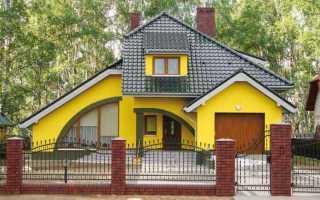 Окраска оштукатуренных фасадов