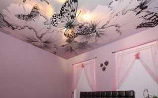 Тканевые потолки плюсы и минусы