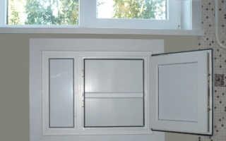 Пластиковые окна с холодильником