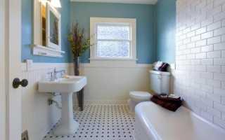 Ванная комната бюджетный ремонт