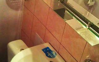 Ванна в малосемейке ремонт