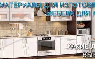 Влагостойкий материал для кухни