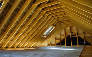 Варианты крыши домов мансардного типа