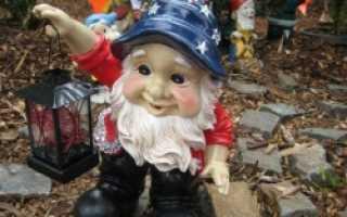Из чего делают садовые фигурки