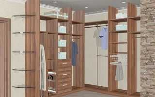 Конструктор гардеробной комнаты онлайн 3d