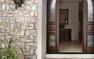 Плитка для отделки фасада дома