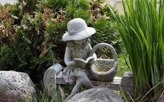 Из чего делать садовые скульптуры