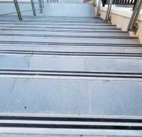 Противоскользящие накладки на лестницу