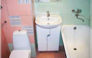 Ванная комната дешевый ремонт фото
