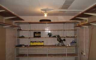 Обустройство гаража 6х4