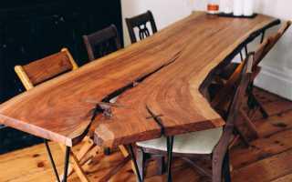 Цвета столов из дерева