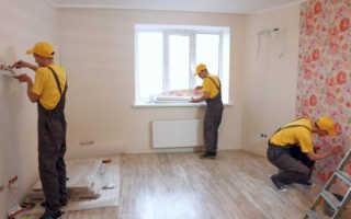 Виды работ при капитальном ремонте квартиры