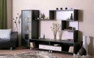 Мебельная горка для зала