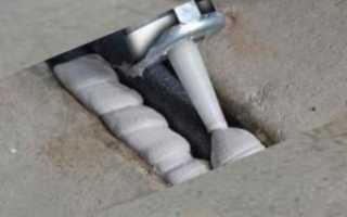 Двухкомпонентный герметик для бетона