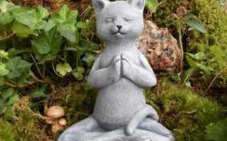 Из мягкой игрушки садовая скульптура