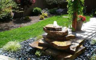 Изготовление садовых фонтанов
