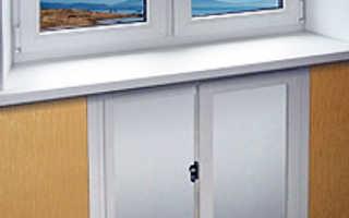 Как сделать холодильник под окном своими руками