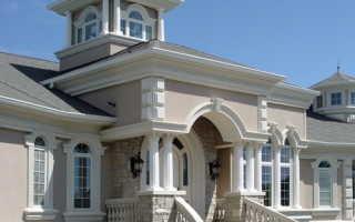 Элементы фасада частного дома