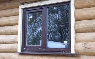 Установка пластиковых окон самостоятельно в деревянном доме