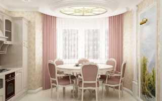 Дизайн гостиной с окном эркером