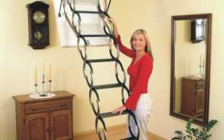 Раздвижная лестница своими руками